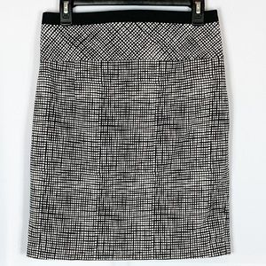 Express Black and White Skirt Size 6